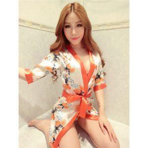 女神的秘密衣櫥 角色扮演 日式 和服 內外三件組套裝 情趣角色服 浴衣 腳色扮演 性感和服 情趣和服  性感 和服