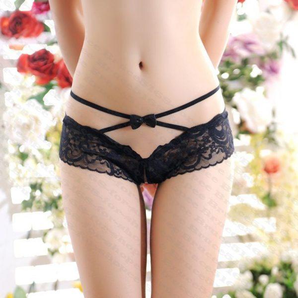 女神的秘密衣櫥 前後交岔簍空 性感內褲 開檔 蕾絲 超低腰內褲 情趣內褲 情趣三角褲 性感三角褲 女用內褲 情趣內衣
