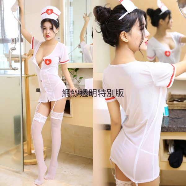 女神的秘密衣櫥 角色扮演 護士服 白衣天使 俏護士 派對角色服 服飾 服裝 性感護士制服 Cosplay 情趣內衣
