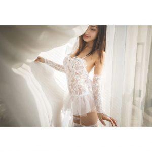 女神的秘密衣櫥 情趣內衣 蕾絲婚紗唯美風格 類馬甲 性感婚紗 婚紗情趣 蕾絲睡衣 魅惑睡衣 情趣睡衣 狂野睡衣 性感馬甲