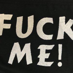 女神的秘密衣櫥 女用內褲 fuck me 內褲 胖次 性感內褲 情趣綁帶內褲 字母三角褲 綁帶內褲 情趣內搭 綁帶